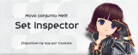 Novo Conjunto da Nell Schwarz Inspector.