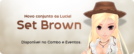 Novo Conjunto da Lucia Brown Trendy.