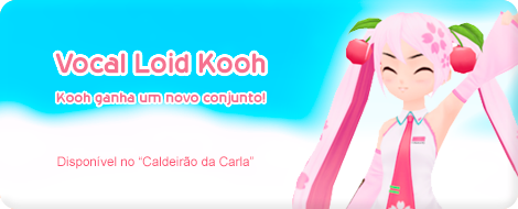 A Kooh ganhou um novo conjunto, Vocal Loid Kooh!