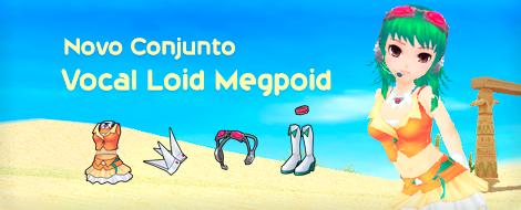 Novo conjunto Vocal Loid Megpoid da Lúcia!