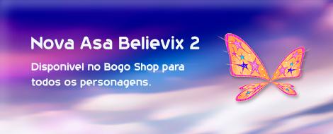 Nova Asa Believix 2, disponível no Bogo Shop.