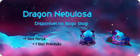 Dragon Nebulosa o novo acessorio para todos os personagens.
