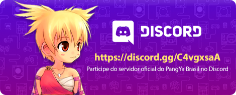 PangYa Brasil no DISCORD