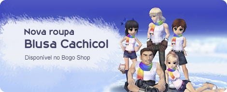 Nova Brusa Cachicol no Bogo Shop